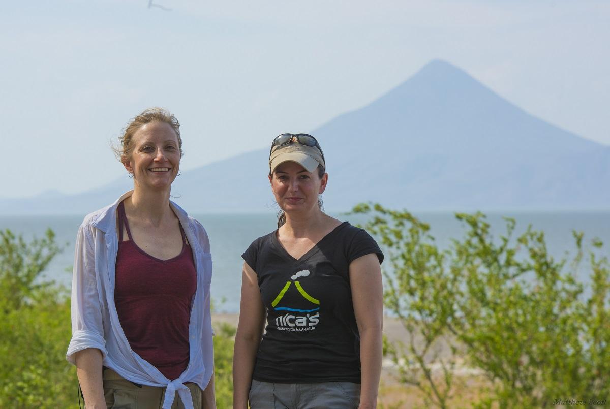 Lara Wagner and Diana Roman the inaugural Harry Oscar Wood Chairs of Seismology