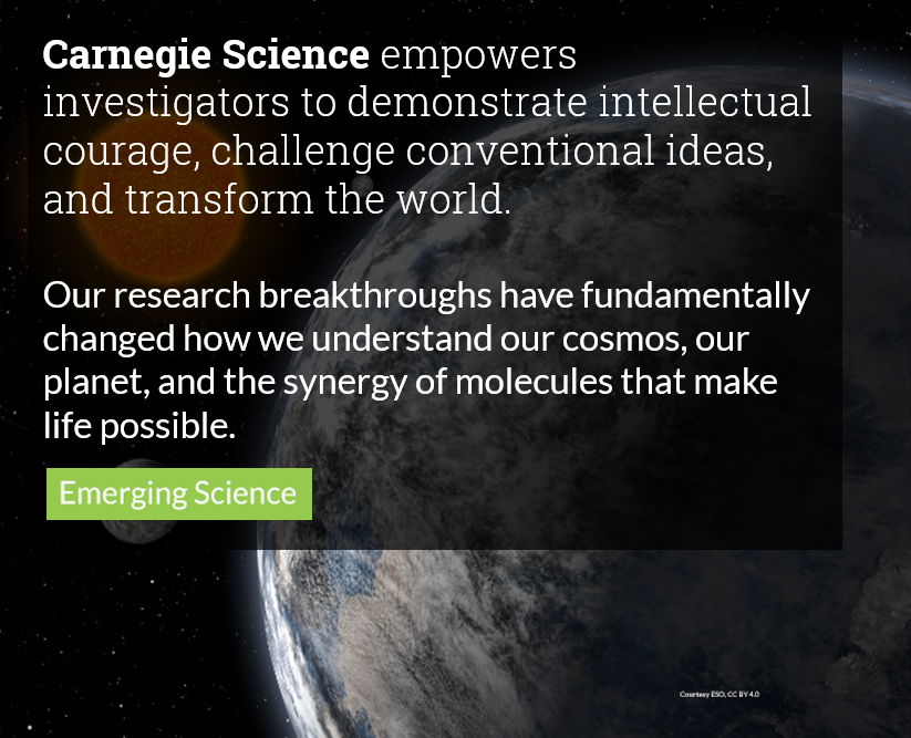 Carnegie Institution for Science | To encourage discovery