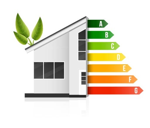 Energy efficient house by Mikhail Grachikov, Shutterstock.