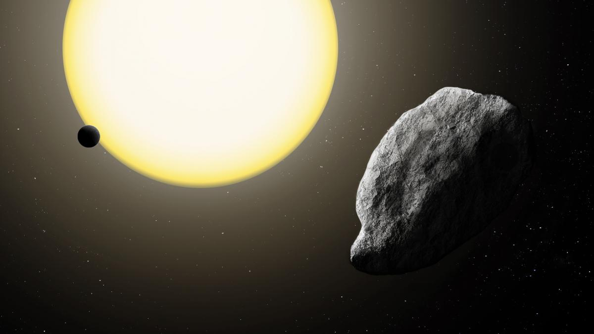 Asteroid 2021 PH27 courtesy Katherine Cain/ Carnegie Institution for Science.