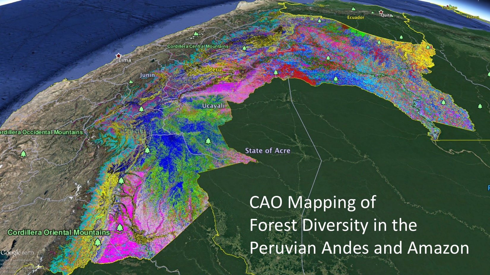 High-tech maps of tropical forest diversity identify new ...