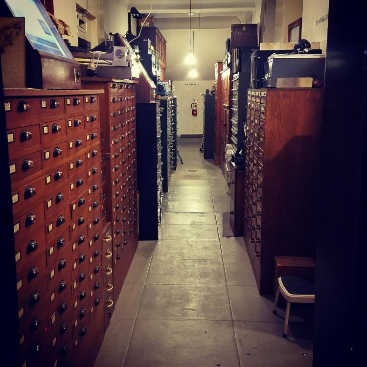 Inside the vault at the Observatories. Photo by Kit Whitten