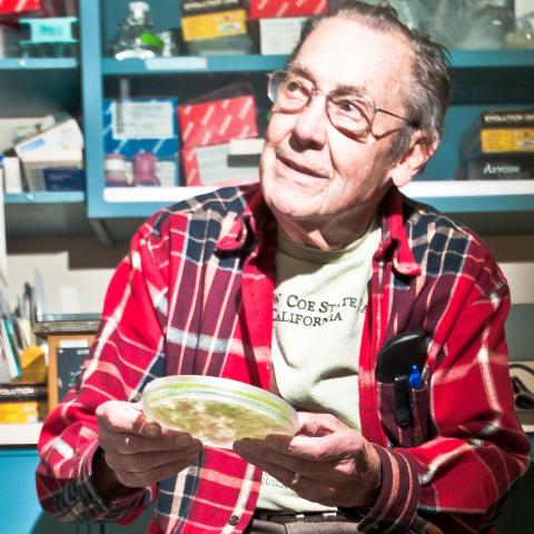 Winslow Briggs by Robin Kempster, courtesy Carnegie Institution for Science.