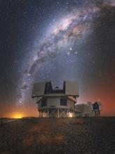 The Magellan telescopes at LCO by Yuri Beletsky.