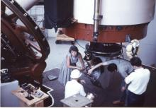 Vera Rubin at Lowell Observatory, courtesy of Carnegie Institution for Science.