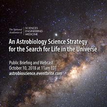 NASEM astrobiology briefing artwork