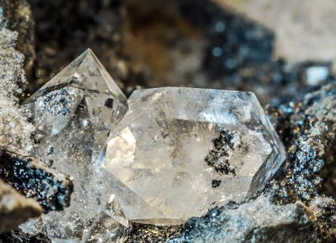 Rough diamond photograph purchased from iStock