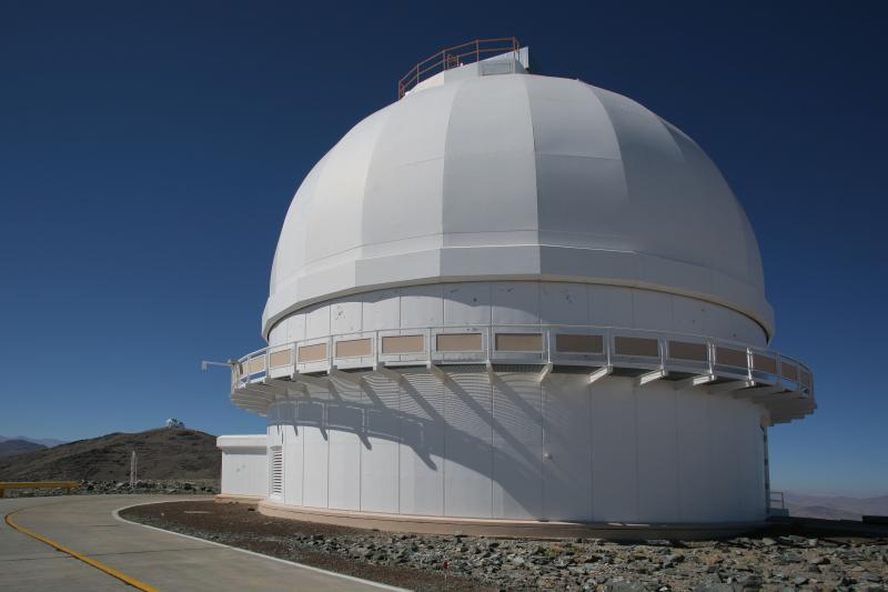 The du Pont telescope, courtesy Matias del Campo