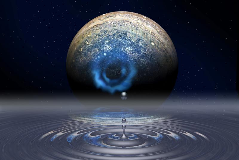 Unraveling the properties of fluid metallic hydrogen could help scientists unlock the mysteries of Jupiter's formation and internal structure. Credit: Mark Meamber, LLNL.