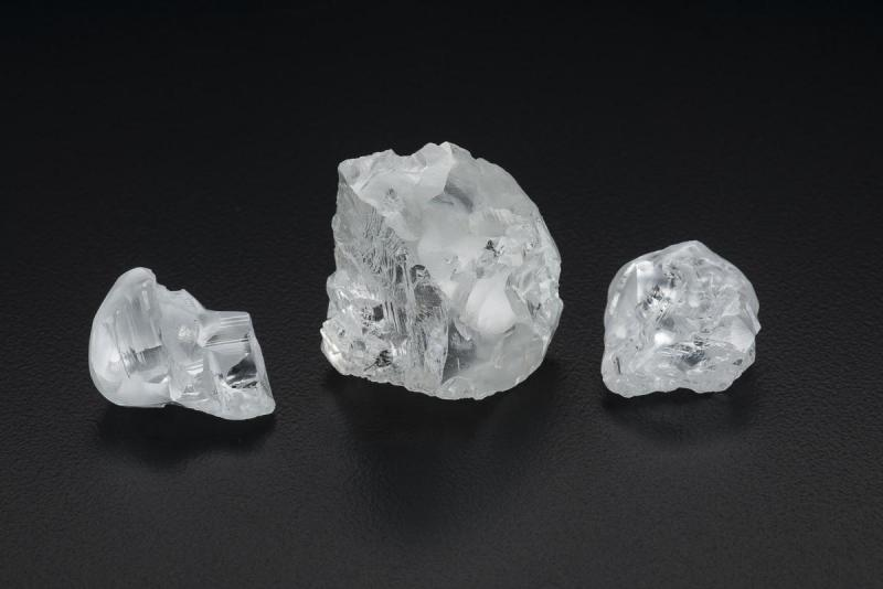 CLIPPIR diamonds by Robert Weldon, copyright GIA, courtesy Gem Diamonds Ltd.