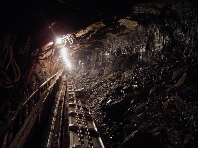 Coal mine, public domain