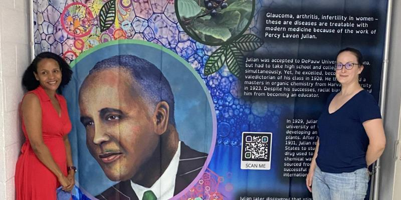 Art and science exhibit at Morgan State University