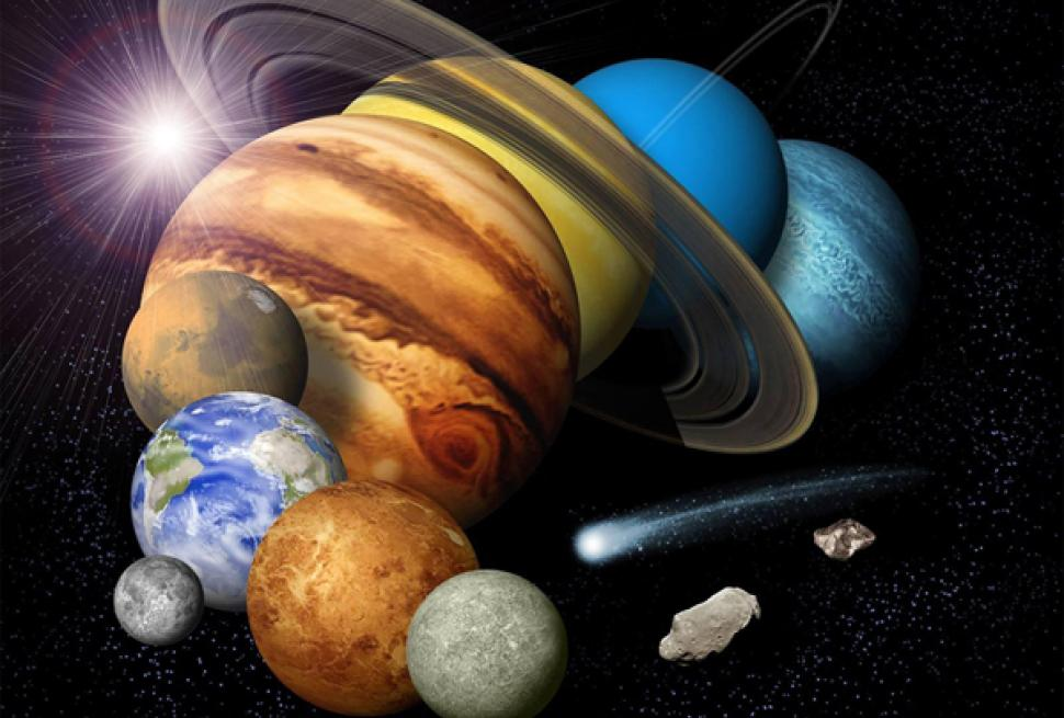 what makes earth unique from other planets and moons in our solar system - photo #24