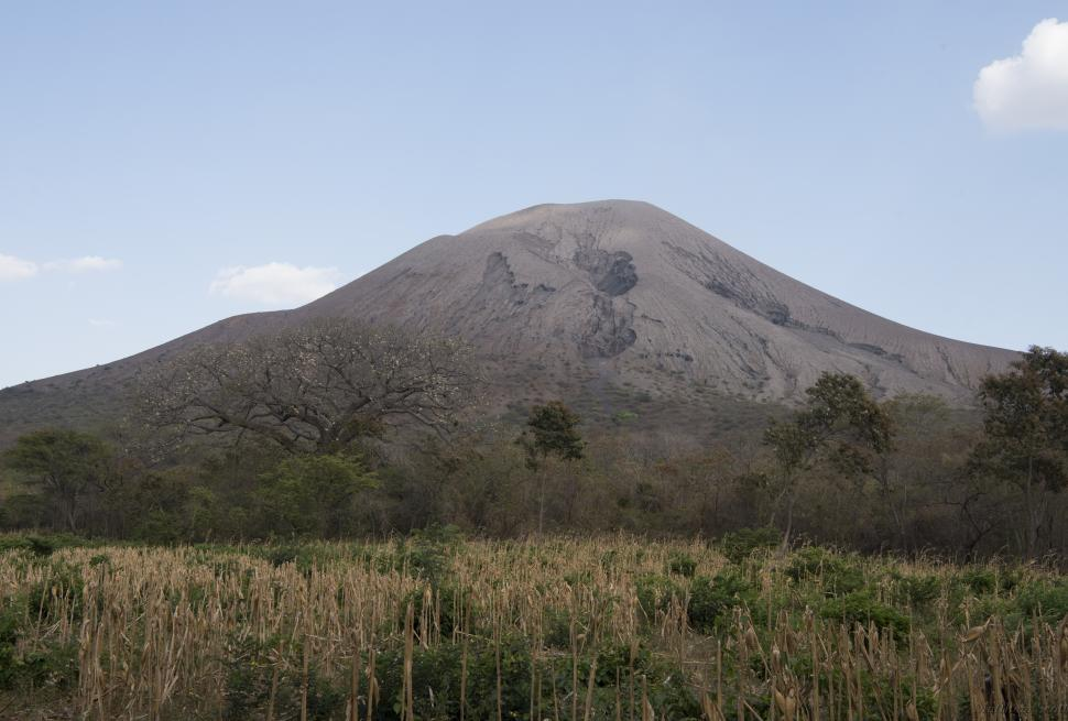 Telica Volcano in Nicaragua, courtesy of the Carnegie Institution for Science.