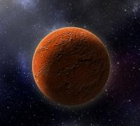 Artist's conception of HD 21749c, the first Earth-sized planet found by NASA's Transiting Exoplanets Survey Satellite (TESS) by Robin Dienel courtesy of Carnegie Institution for Science